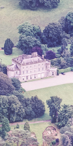 The Grey Abbey Estate from the air