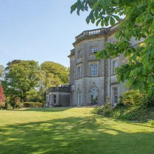 Grey Abbey House form the garden