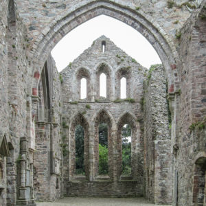 Grey Abbey ruins (interior)