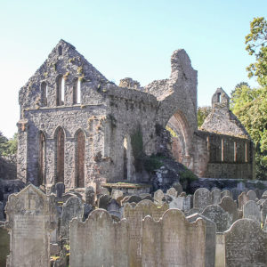 Grey Abbey ruins & graveyard