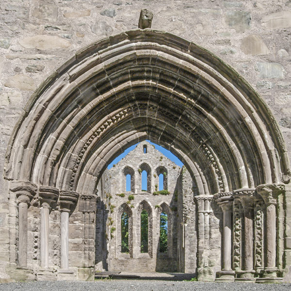 Grey Abbey entrance