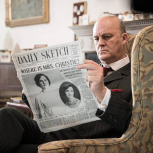 Tim McInnerny in Agatha and the Truth of Murder at Grey Abbey House