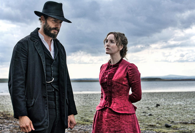 Jamie Dornan & Ann Skelly in Death and Nightingales on the Grey Abbey Estate