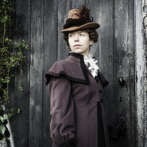 Anna Maxwell Martin in The Frankenstein Chronicles on Mid Island, The Grey Abbey Estate
