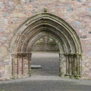 Greyabbey ruins Nave entrance
