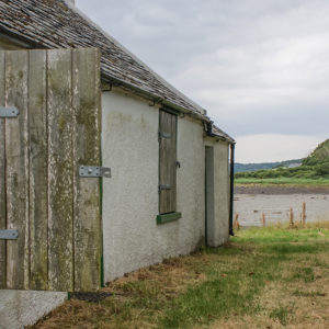 Cottage detail on Strangford Lough