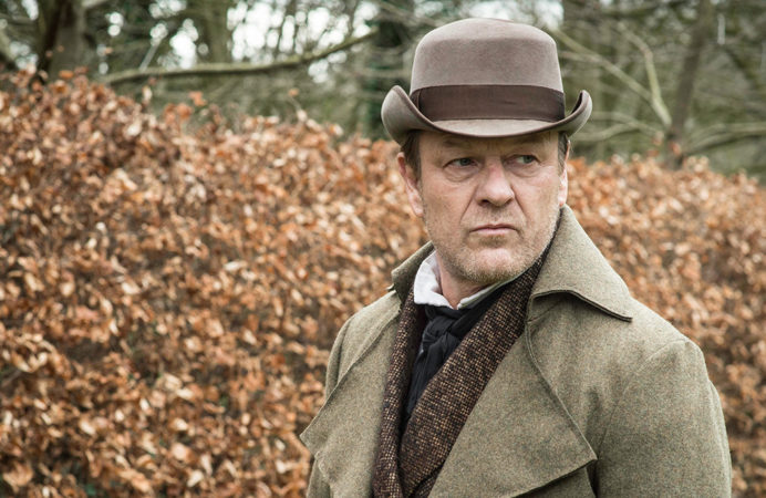 Sean Bean in The Frankenstein Chronicles at Grey Abbey House