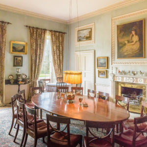 Grey Abbey House dining room