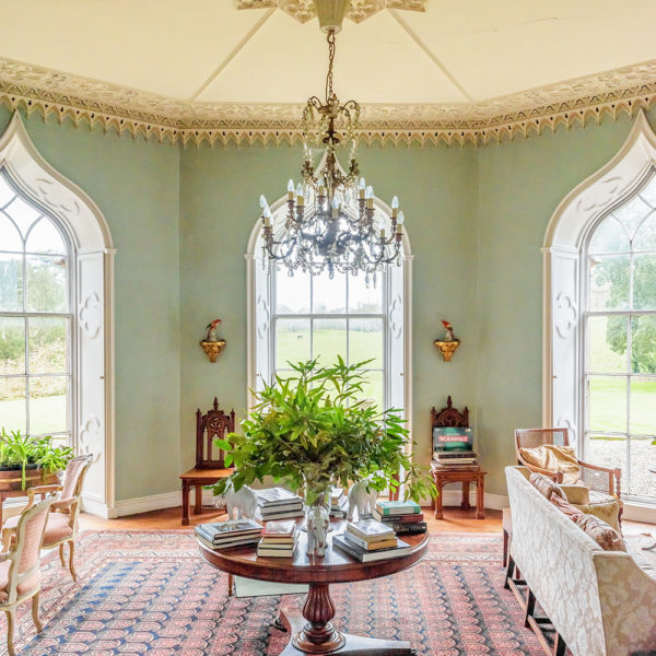 Grey Abbey House drawing room