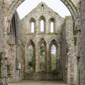 Greyabbey ruins Presbytery from the west